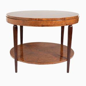 Tavolo in amboyna, anni '20