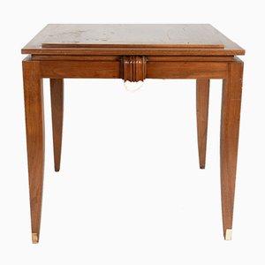 Spieltisch aus Walnussholz, 1930er