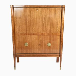 Mahogany Bar Cabinet from De Coene, 1930s