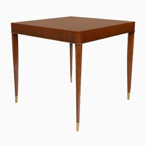 Mahogany Game Table from De Coene, 1930s