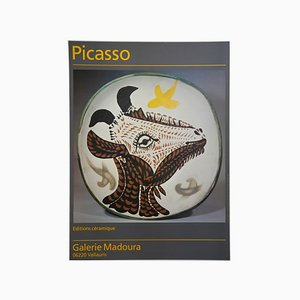 Vintage French Pablo Picasso Ceramics Exhibition Poster