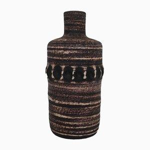 Botella Mid-Century de cerámica de Accolay, años 60