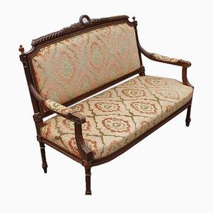 Antikes Sofa aus Walnussholz