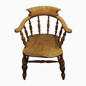Ash Smokers Bow Chair, 1920s
