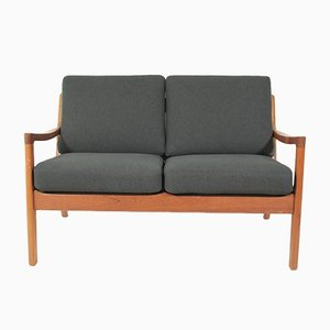 Vintage 2-Seater Sofa by Ole Wanscher for France & Søn, 1960s