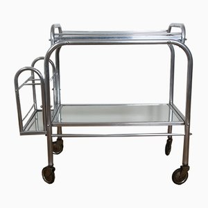 Art Deco French Service Trolley, 1930s