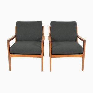 Sessel von Ole Wanscher für France & Søn, 1950er, 2er Set