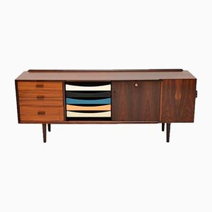 Vintage Danish Rosewood Sideboard by Arne Vodder for Sibast, 1960s