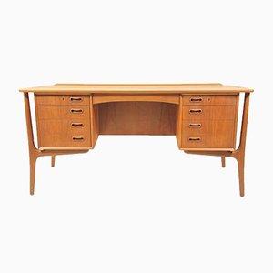 Schreibtisch aus Teakholz von Svend Åge Madsen für Sigurd Hansen, 1960er