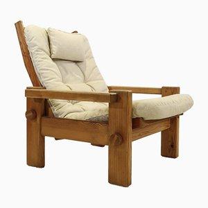 Dymling Sessel mit hoher Rückenlehne von Yngve Ekström, 1960er