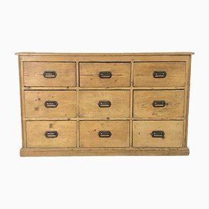Antique Solid Haberdashery Chest of Drawers