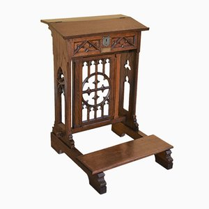 Antique Oak Lectern