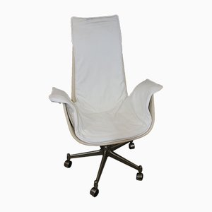 Vintage Tulip Office Chair by Jørgen Kastholm & Preben Fabricius