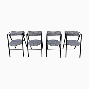 Italian Chairs by Mario Botta for Alias, 1990s, Set of 4