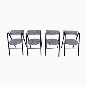 Italienische Stühle von Mario Botta für for Alias, 1990er, 4er Set