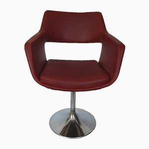 Mid-Century Polish Rotary Chair from Meblomet, 1960s