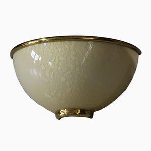 Applique vintage in vetro di Murano, set di 6