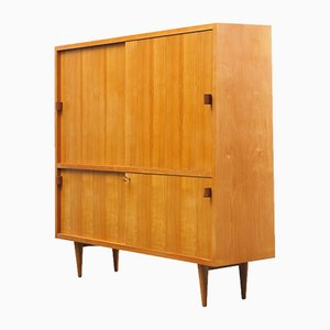 Cherry Wood Highboard from WK Möbel, 1950s