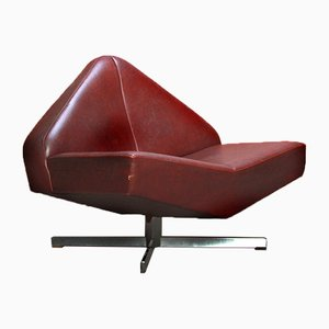 Mid-Century Skai Lounge Chair by Friedrich Hill for Leolux, 1961
