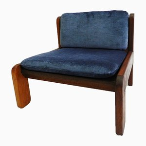 Jacaranda Wood Lounge Chair by Jürg Bally, 1970s