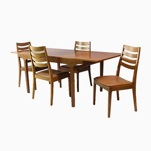 Mid-Century Dining Set from Nathan, 1970s