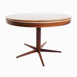 Brazilian Rio Palissander Extendable Dining Table, 1960s