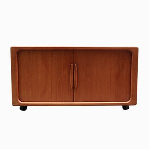 Teak Sideboard with Accordion Doors from Dyrlund, 1970s