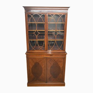 Antique Edwardian Mahogany Display Cabinet