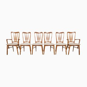 Ingrid Teak Dining Chairs by Niels Koefoed for Koefoeds Hornslet, 1960s, Set of 6