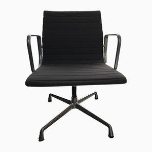 Chaise Pivotante EA107 en Aluminium par Charles & Ray Eames pour Vitra, 2000s
