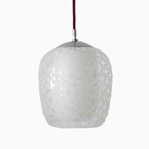 Lampe à Suspension Modèle Cora Mid-Century par Wilhelm Wagenfeld pour Peill & Putzler, 1950s
