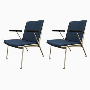 Oase Armlehnstühle von Wim Rietveld, 1950er, 2er Set