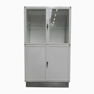 Vintage Steel Industrial Medicine Cabinet