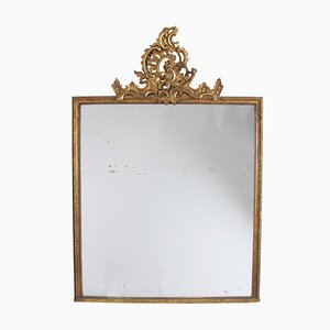 Antique Swedish Giltwood Mirror