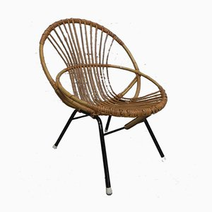 Vintage Rattan Chair from Rohe Noordwolde