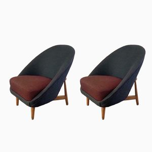 Model 115 Armchair by Theo Ruth for Artifort 1950s, Set of 2