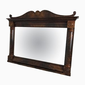 William IV Mahogany Framed Mirror, 1835