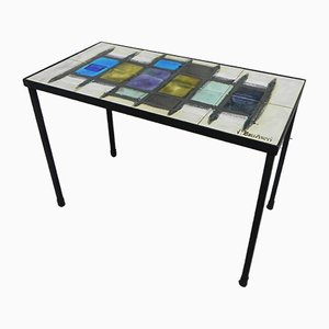 Mesa de centro vintage con azulejos de Belarti