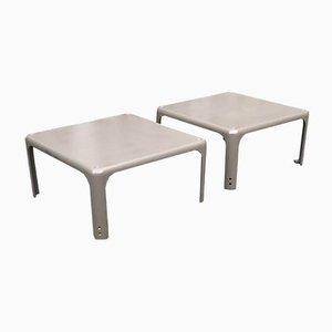 Demetrio 45 Side Table by Vico Magistretti, 1960s, Set of 2
