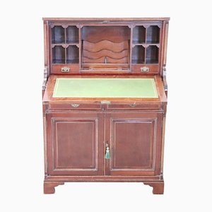 Vintage Walnut Secretaire, 1940s