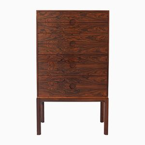 Danish Rosewood Chest of Drawers by Kai Kristiansen for Aksel Kjersgaard, 1960s
