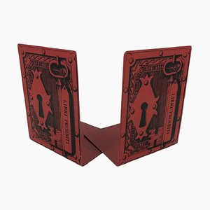 Italian Bookends by Piero Fornasetti, 1950s, Set of 2
