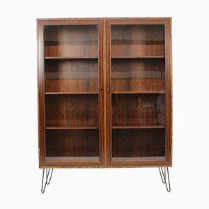 Rosewood & Glass Cabinet by Kai Winding, 1960s