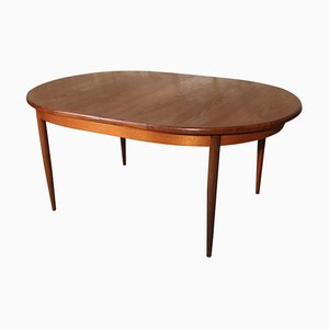 Vintage Teak Fresco Series Oval Dining Table by Victor Wilkins for G-Plan