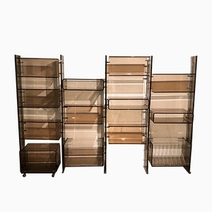 Vintage Modular Bookcase by Michel Dumas for Roche Bobois