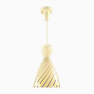 Lámpara colgante de Gangkofner para Peill & Putzler, años 50