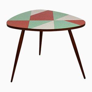Table Basse Tchèque Vintage en Formica Multicolore de Drevopodnik Brno, 1963