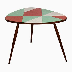 Vintage Czech Multicolored Formica Coffee Table from Drevopodnik Brno, 1963