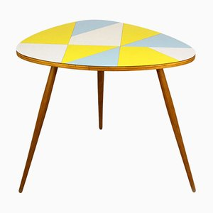 Czech Multicolored Formica Coffee Table from Drevopodnik Brno, 1964