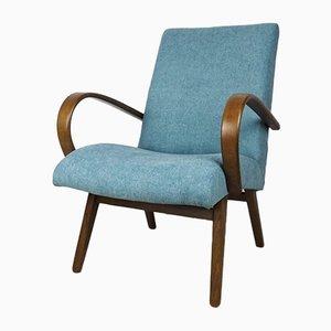 Vintage Model 53 Lounge Chairs by Jaroslav Smidek for TON, Set of 2